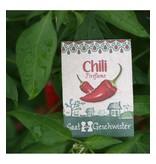 Stadtgärtner Saatgeschwister - Chili Fireflame