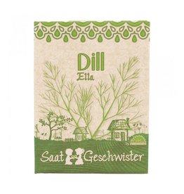 Stadtgärtner Saatgeschwister - Dill Ella