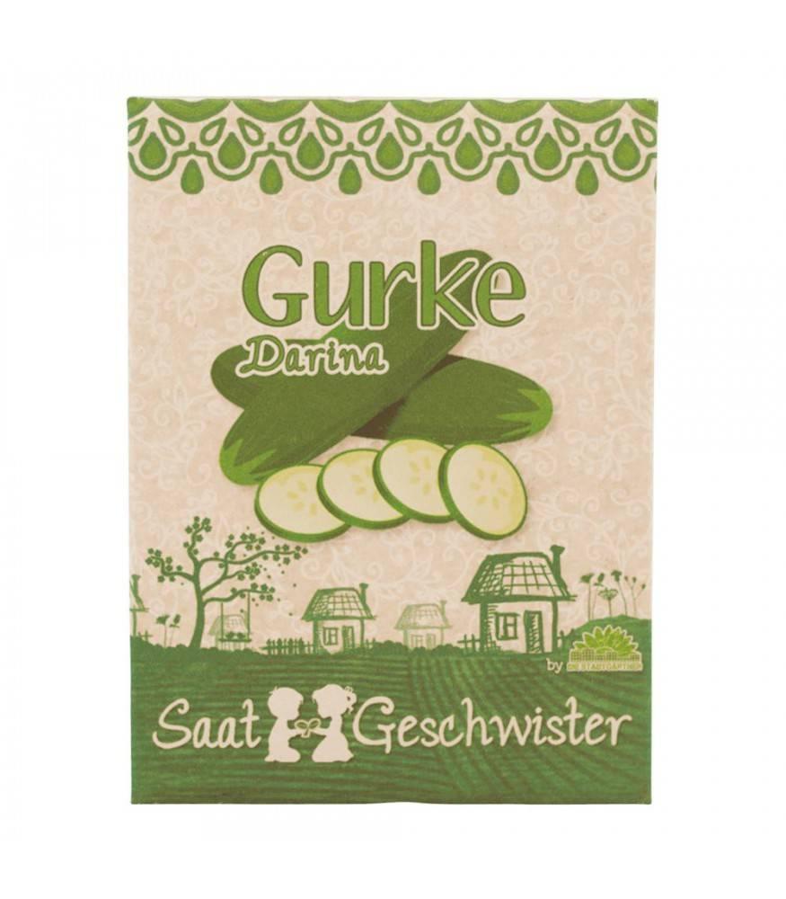 Stadtgärtner Saatgeschwister - Gurke Darina