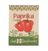 Stadtgärtner Saatgeschwister - Paprika Lubega Red
