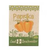 Stadtgärtner Saatgeschwister - Paprika Lubega Yellow