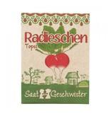 Stadtgärtner Saatgeschwister - Radieschen Topsi