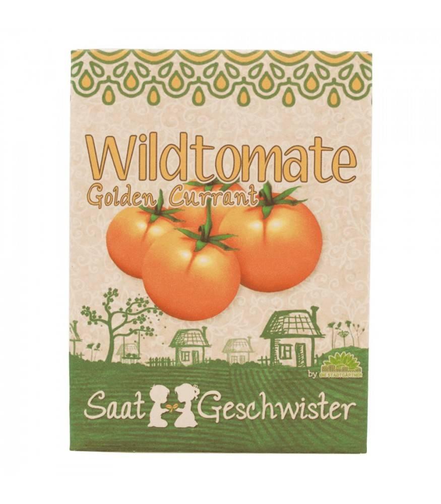 Stadtgärtner Saatgeschwister - BIO Wildtomate Golden Current