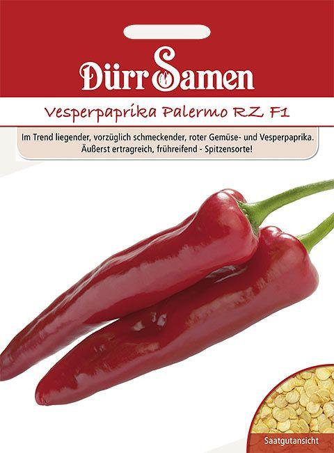 Dürr Samen Vesperpaprika Palermo RZ F1