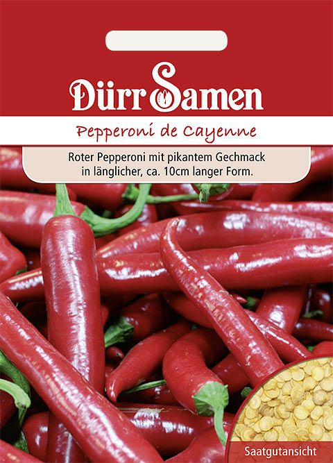 Dürr Samen Pepperoni Cayenne