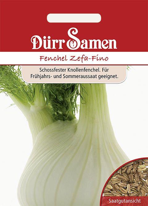 Dürr Samen Fenchel  Zefa-Fino