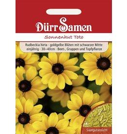 Dürr Samen Sonnenhut  Toto, goldgelbe Blüten, einjährig, 30–40cm