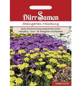Dürr Samen Blumenmischung Steingarten-Mischung, mehrjährig, 25cm