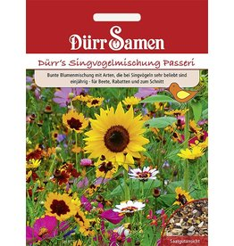 Dürr Samen Blumenmischung Singvogel-Mischung Nützlingsgarten, einjährig, 40cm