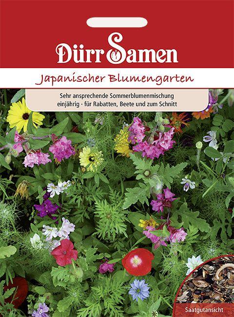 Dürr Samen Blumenmischung Japanischer Blumengarten, einjährig, ca. 40cm