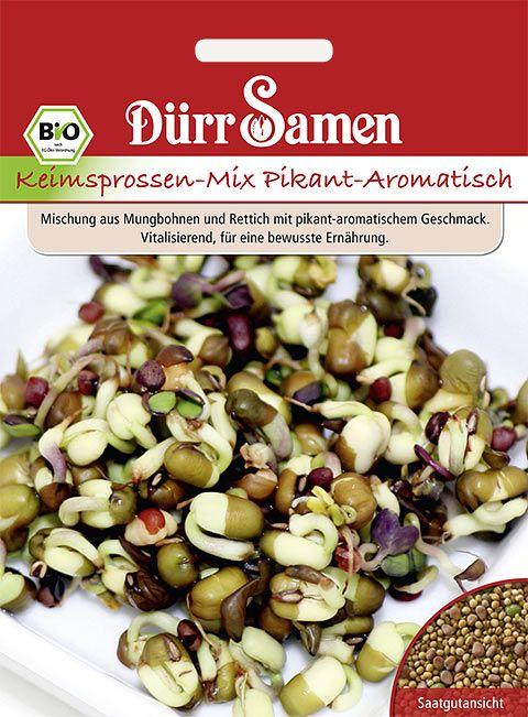 Dürr Samen BIO-Keimsprossen  Pikant-Aromatisch