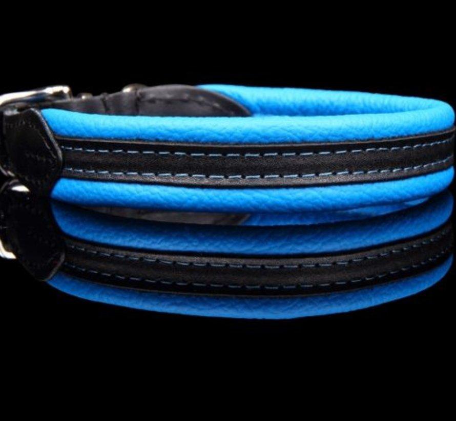 Leren hondenhalsband (soft/duo)