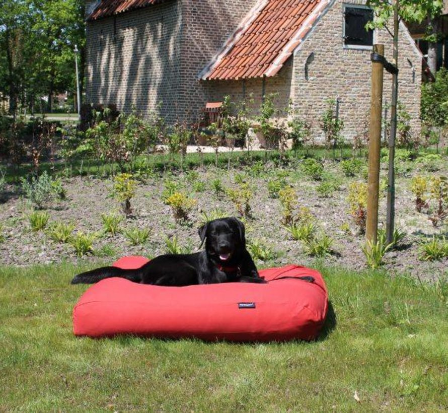 Hondenbed Steenrood