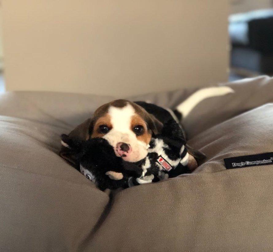 Hondenbed walnut linnen