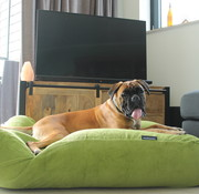 Dog's Companion® Hondenbed appelgroen ribcord