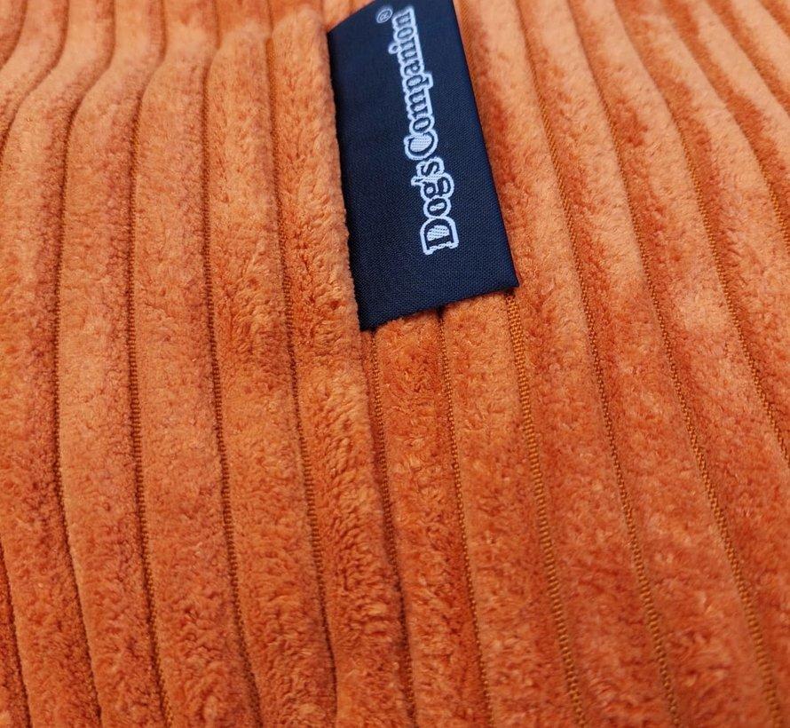 Hondenbed Oranje giant ribcord