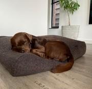 Dog's Companion® Hondenbed Stockholm Rough brown/black