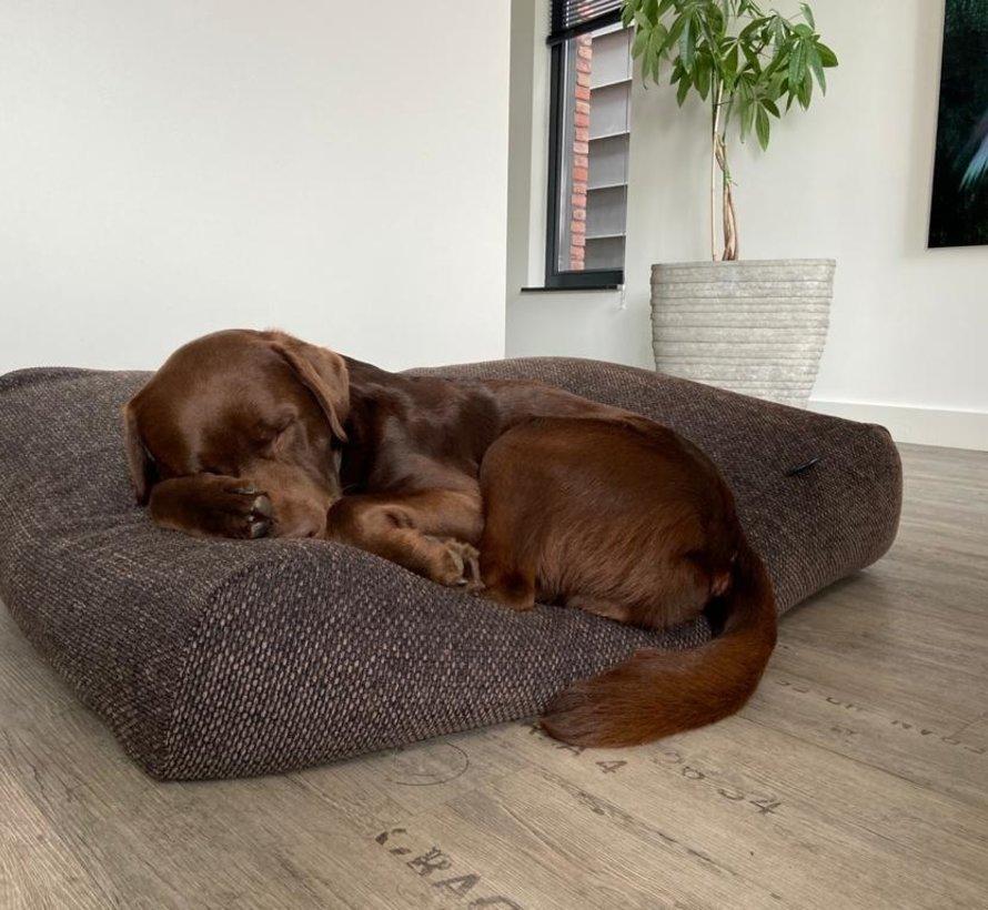 Hondenbed Stockholm Rough brown/black