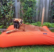 Dog's Companion® Hondenkussen Oranje Vuilafstotende Coating