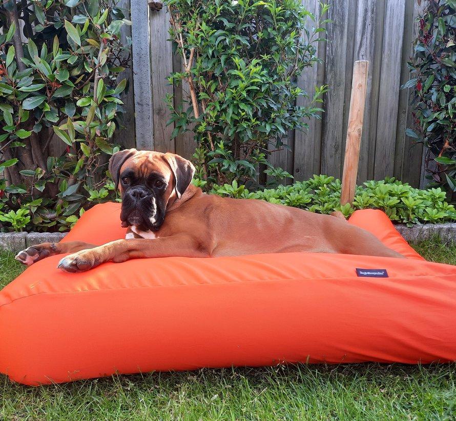 Hondenkussen Oranje Vuilafstotende Coating
