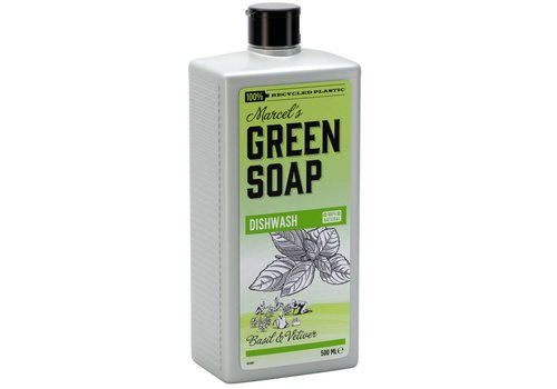 Dishwash Basil & Vetiver Grass (500 ml)