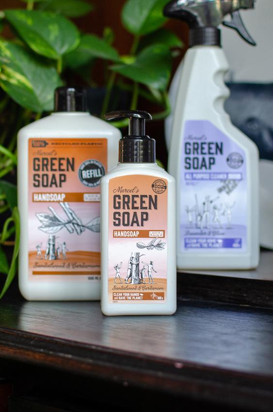 Marcel's Green Soap & Veggiebulle