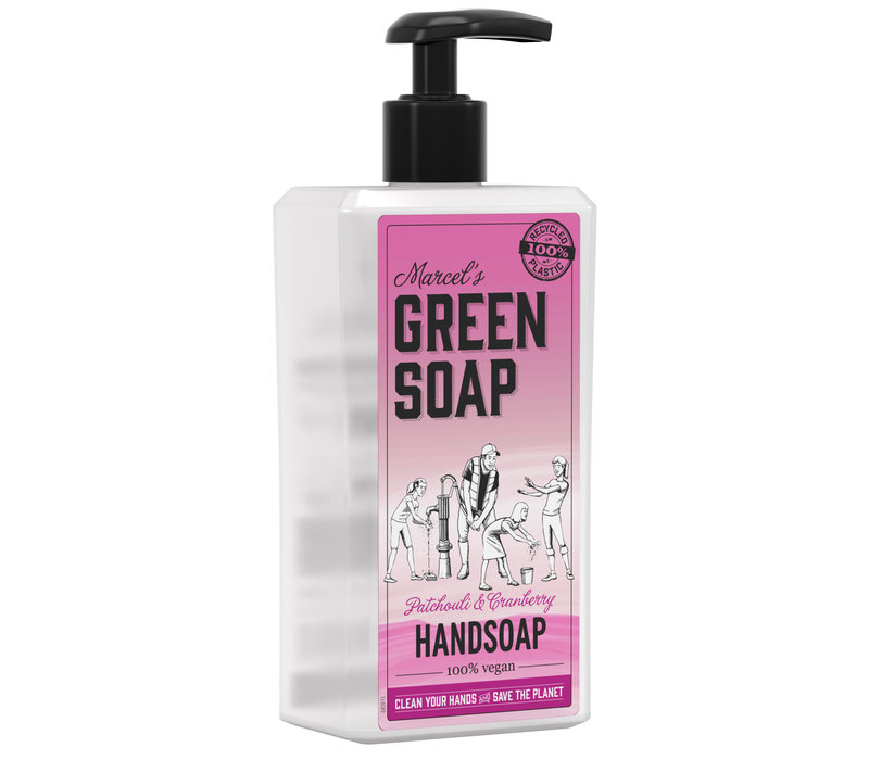 Handzeep Patchouli & Cranberry (500 ml)