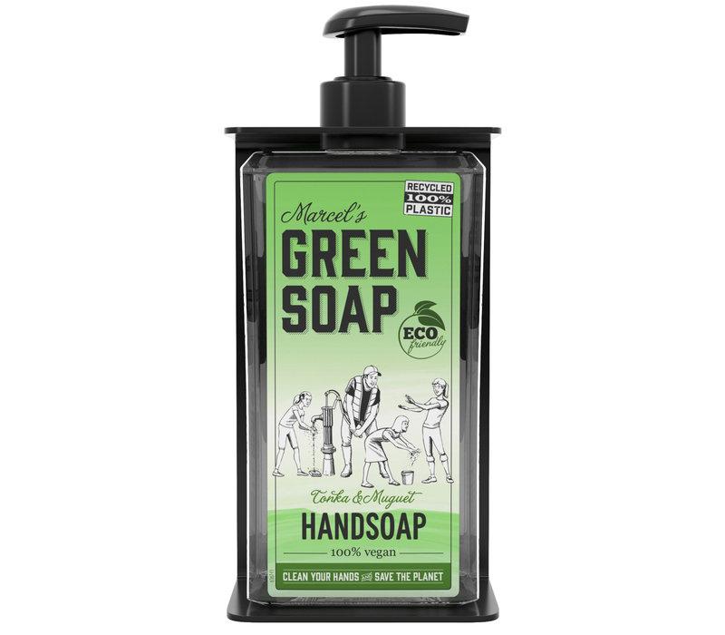 Single soap dispenser holder