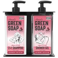 Double distributeur de savon