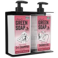 Double soap dispenser holder
