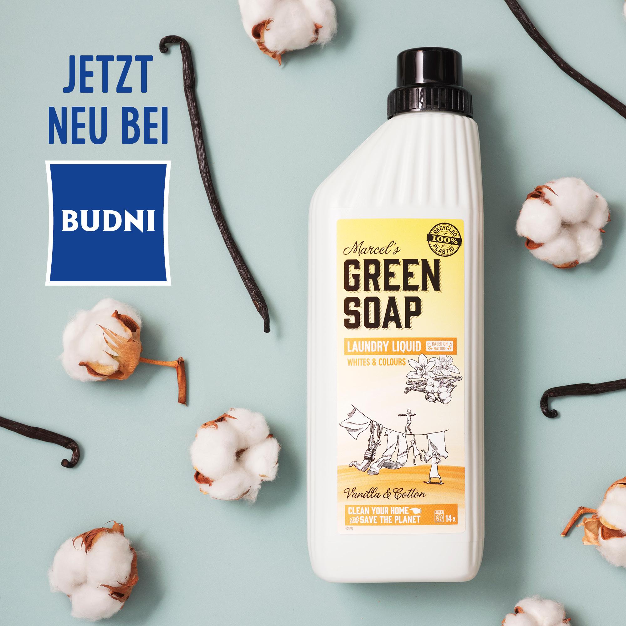 Marcel's Green Soap jetzt neu bei Budni Hamburg