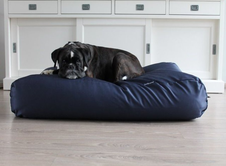 Hundebett Dunkelblau (Beschichtet) Large