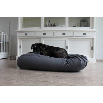 Dog's Companion® Hundebett Granit Grau Baumwolle Small