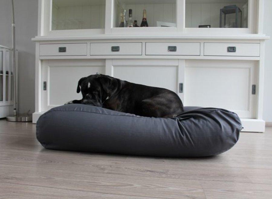 Hundebett Granit Grau Baumwolle Small