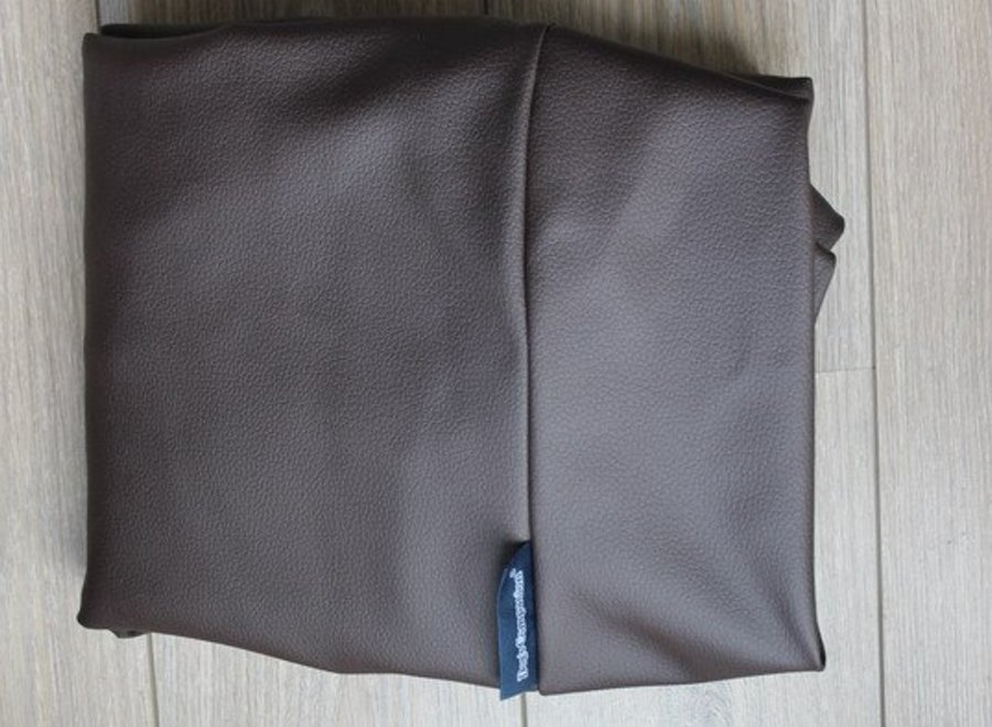 Bezug Schokolade Braun Leather Look Large