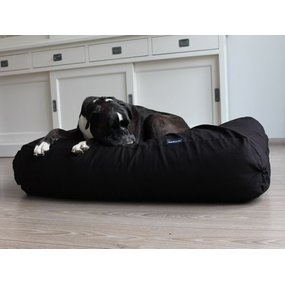 Dog's Companion® Hundebett Schwarz Medium