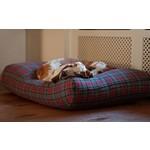 Dog's Companion® Hundebett Scottish Grau Medium