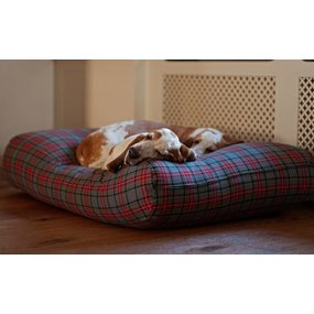 Dog's Companion® Hundebett Scottish Grau Medium