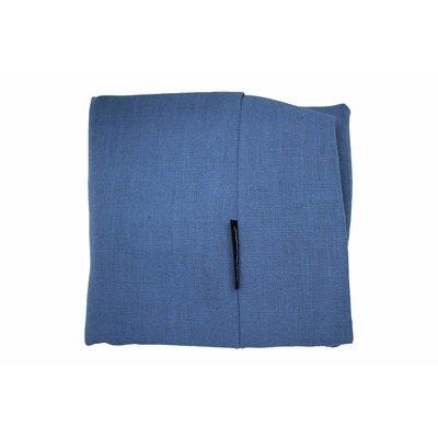 Dog's Companion® Bezug Manhattan Blau Leinen Small