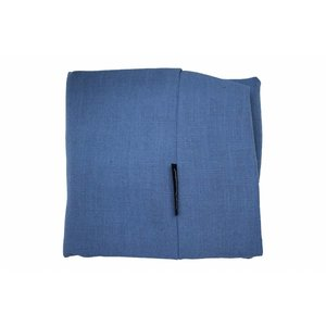 Dog's Companion® Bezug Manhattan Blau Leinen Medium