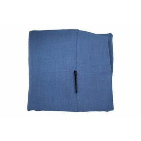 Dog's Companion® Bezug Manhattan Blau Leinen Superlarge