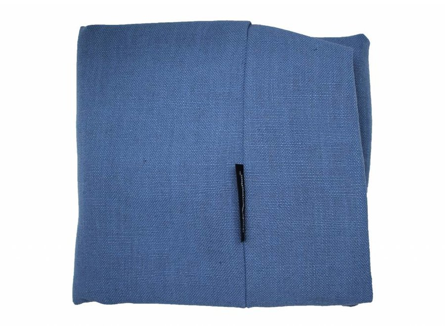 Bezug Manhattan Blau Leinen Superlarge
