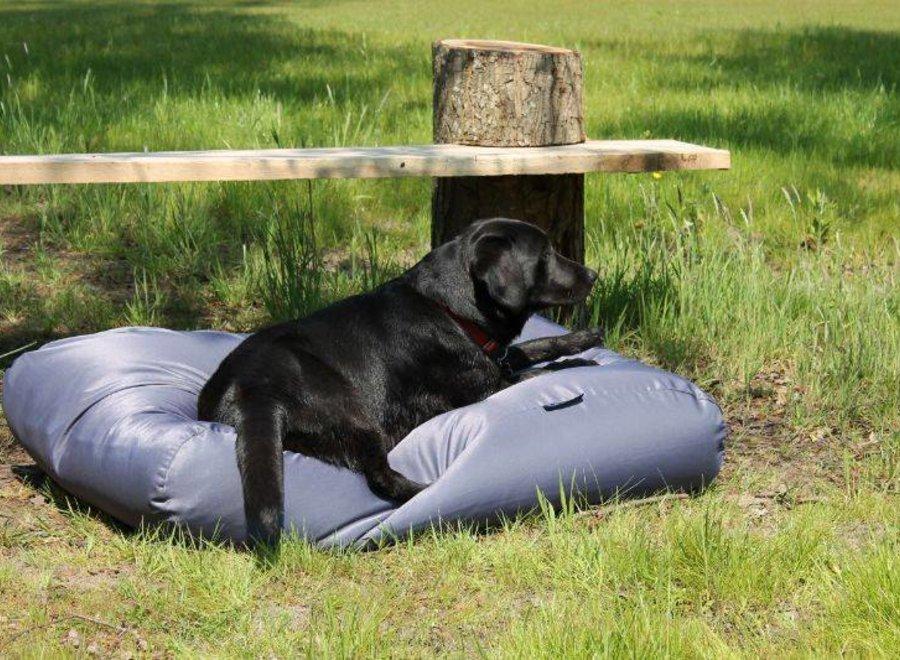 Hundebett Stahlgrau (Beschichtet) Large
