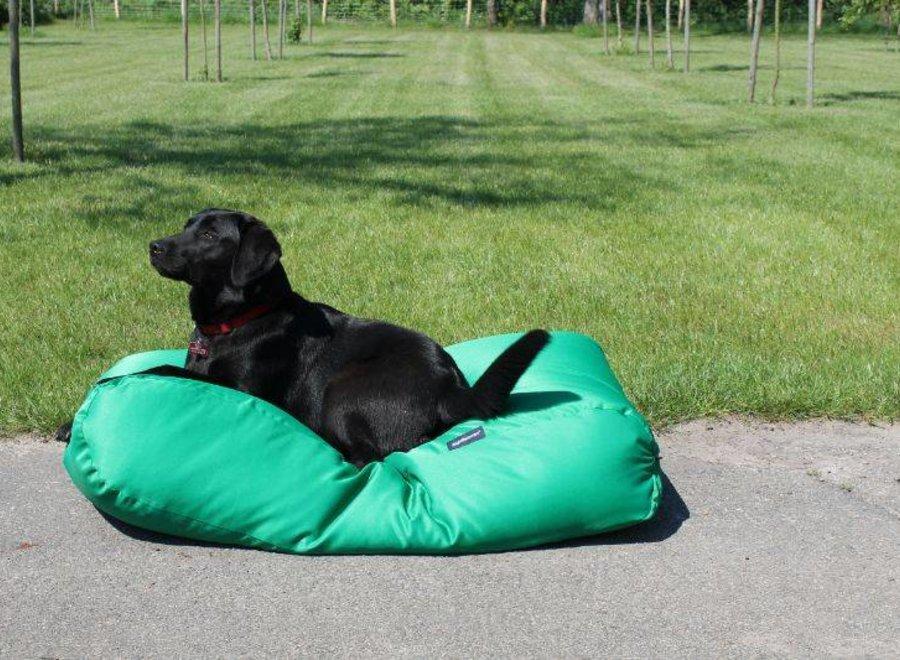 Hundebett Frühlingsgrün (Beschichtet) Medium