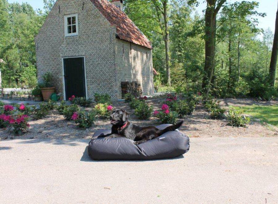 Hundebett Schwarz (Beschichtet) Small