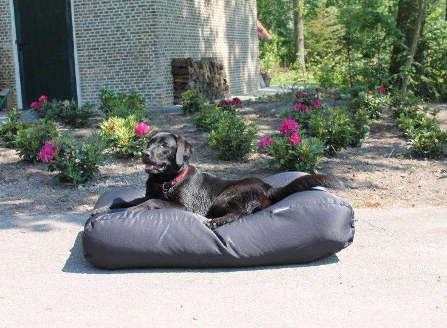 Hundebett Schwarz (Beschichtet) Medium