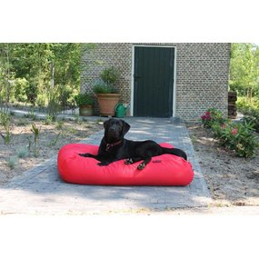Dog's Companion® Hundebett Rot (beschichtet) Medium