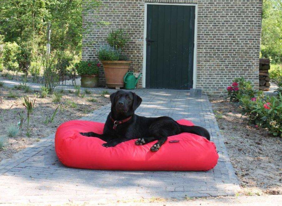 Hundebett Rot (beschichtet) Superlarge