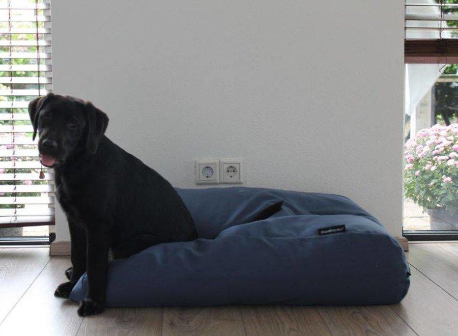 Hundebett raf blau polster Small