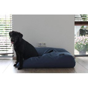 Dog's Companion® Hundebett raf blau polster Medium